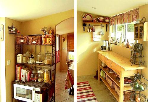 D coration d 39 une maison de campagne - Deco cuisine maison de campagne ...
