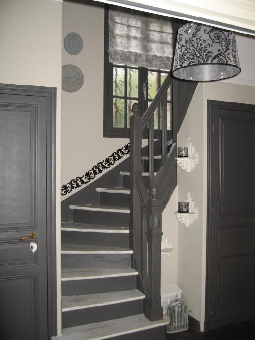 D coration entr e escaliers maison for Escalier paysager entree maison