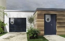 modèle décoration entrée exterieur maison