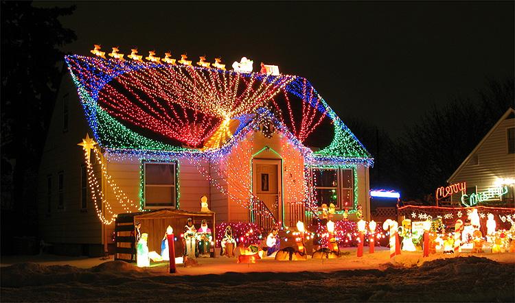 Modèle Décoration Entrée Maison Noel
