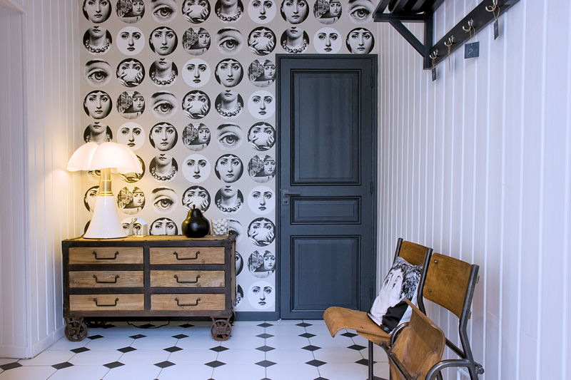 d coration entr e papier peint. Black Bedroom Furniture Sets. Home Design Ideas