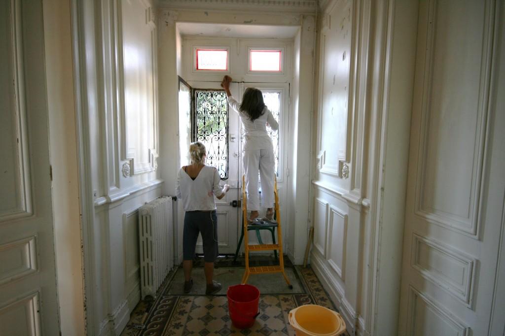 décoration entree maison ancienne
