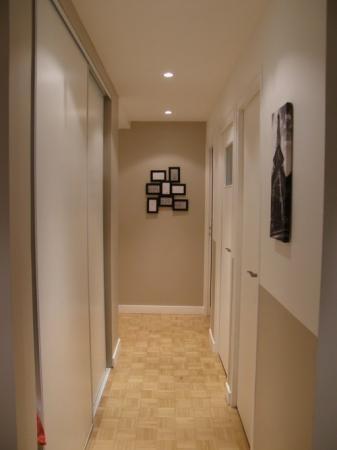 D coration peinture couloir entr e for Entree deco peinture