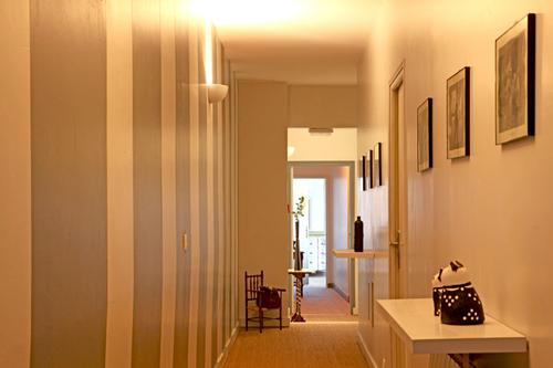 modèle décoration peinture entrée maison