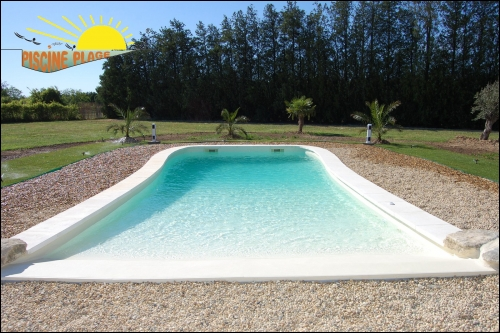 Carrelage plage piscine for Decoration piscine