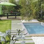 décoration plage piscine