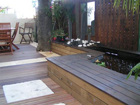 D coration pour terrasse en bois for Decoration pour jardin en bois