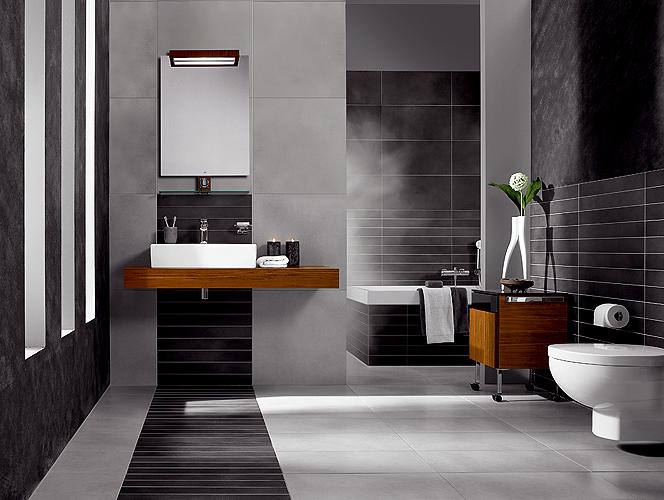 Photo décoration salle de bain moderne - Photo Déco