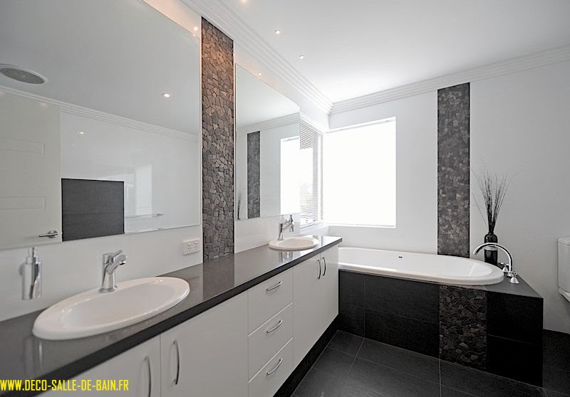 jolie décoration salle de bain moderne - Image De Salle De Bain Moderne