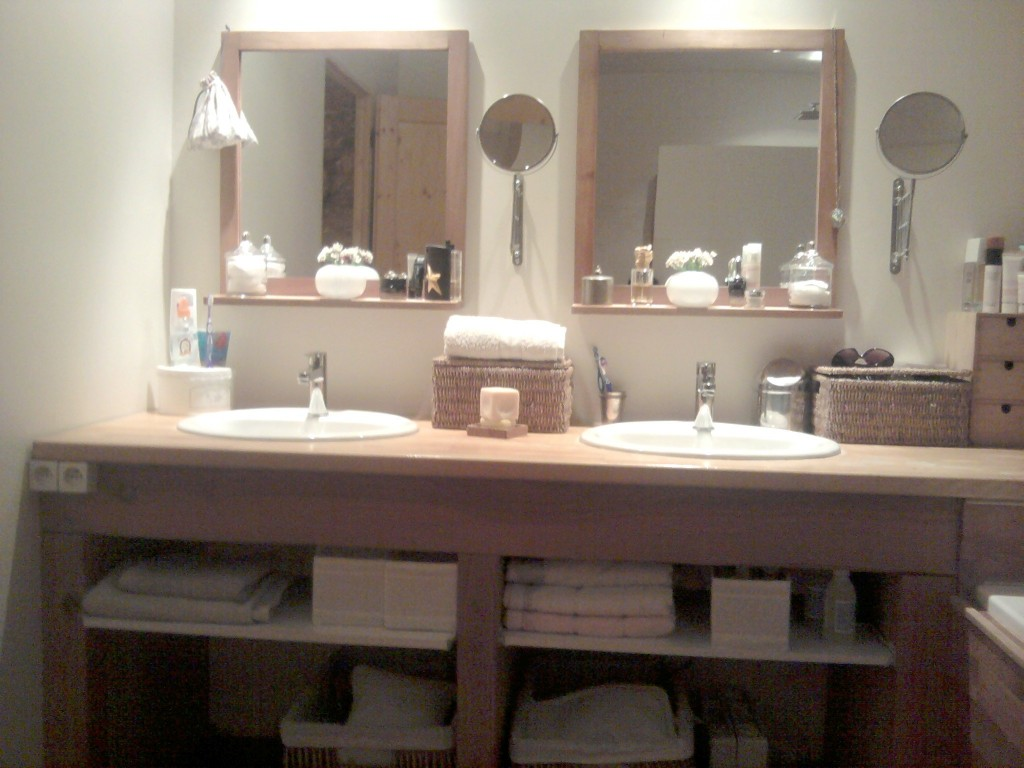 D coration salle de bain zen pas cher for Idee decoration murale salle de bain