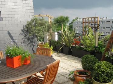 Photo décoration terrasse appartement