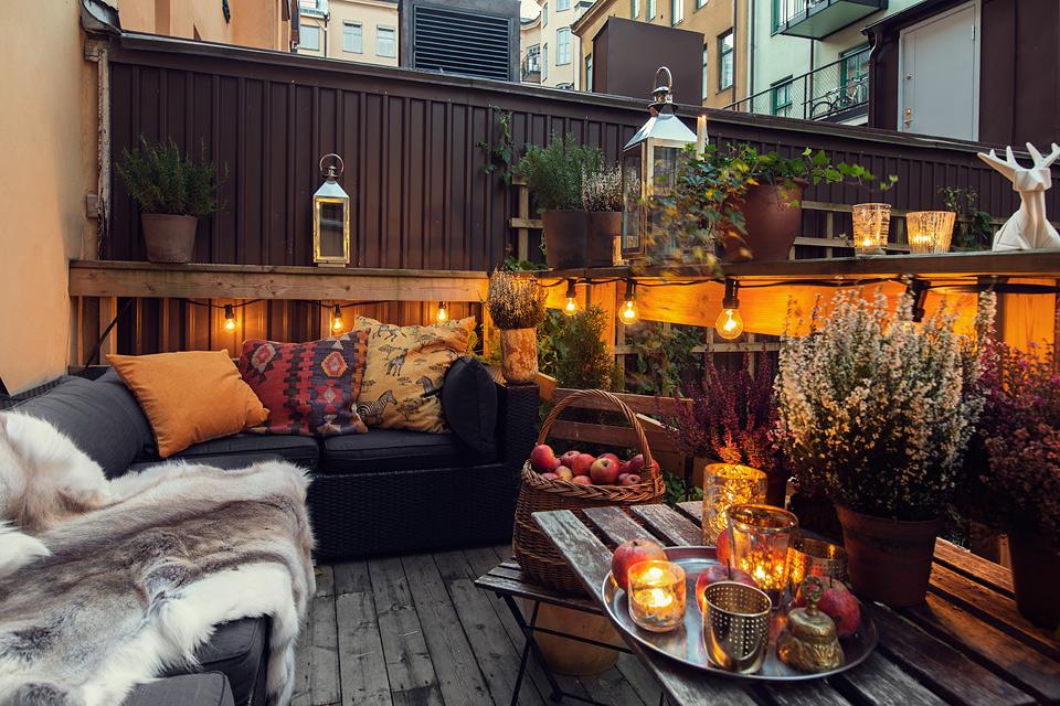 d coration terrasse appartement ville. Black Bedroom Furniture Sets. Home Design Ideas
