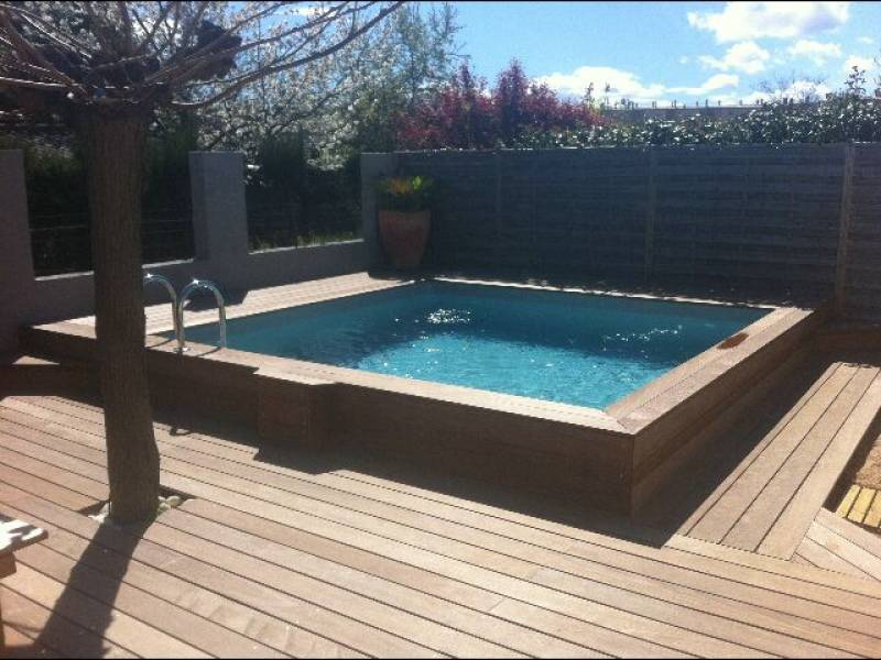 d coration terrasse avec piscine. Black Bedroom Furniture Sets. Home Design Ideas