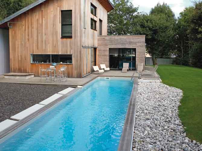 D coration terrasse avec piscine for Photo deco piscine