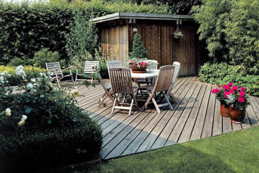 D coration terrasse et jardin for Decoration terrasse jardin