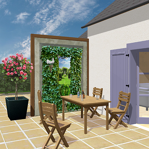 Photo Decoration Terrasse Exterieure