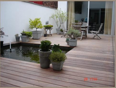 d coration terrasse exterieure bois. Black Bedroom Furniture Sets. Home Design Ideas