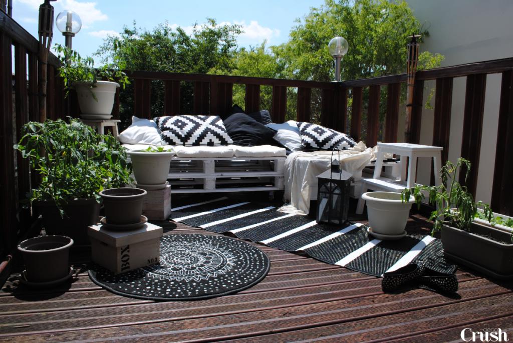 organisation décoration terrasse exterieure bois - Photo Déco