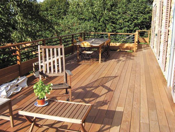 Decoration terrasse bois exterieur images - Traitement bois terrasse exterieur ...
