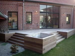 idée décoration terrasse exterieure moderne