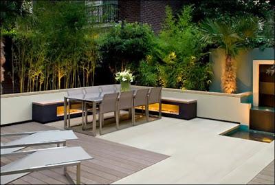 d coration terrasse exterieure moderne. Black Bedroom Furniture Sets. Home Design Ideas