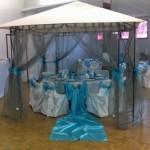 décoration tonnelle mariage