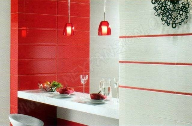 Beautiful Faience Rouge Salle De Bain Contemporary  Design Trends