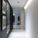 idée déco entrée couloir gris