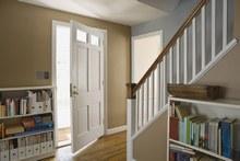 aménagement idée déco hall d\'entrée avec escalier - Photo Déco