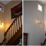 idée déco hall d'entrée avec escalier