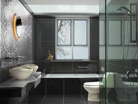 aménagement idée déco salle de bain petite
