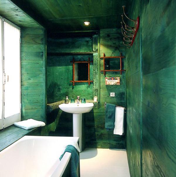Id e d co salle de bain petite for Exemple salle de bain petite