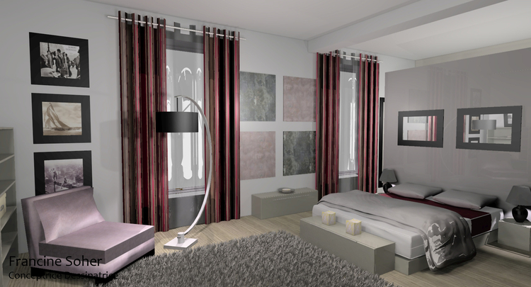 id e d co suite parentale. Black Bedroom Furniture Sets. Home Design Ideas