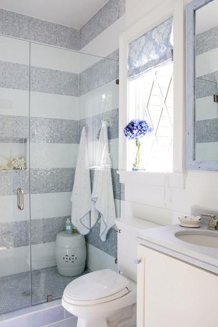 Id e d coration salle de bain carrelage for Exemple de deco de salle de bain