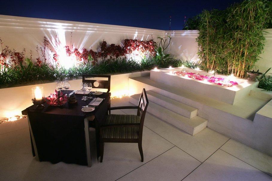 modèle idée décoration terrasse extérieure