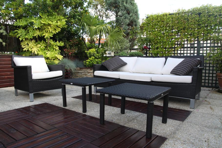 id es d co terrasse appartement. Black Bedroom Furniture Sets. Home Design Ideas