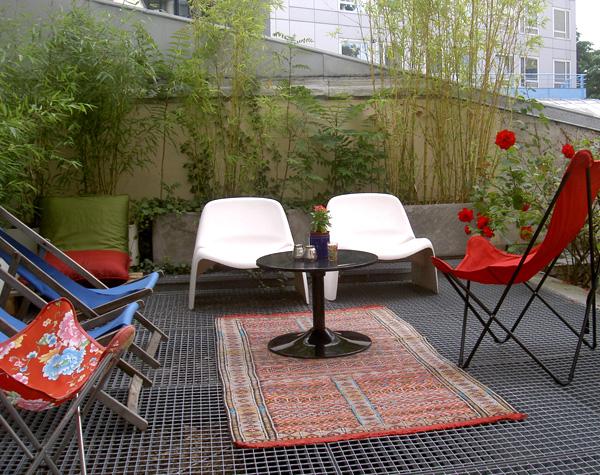 id es d co terrasse appartement. Black Bedroom Furniture Sets. Home Design Ideas
