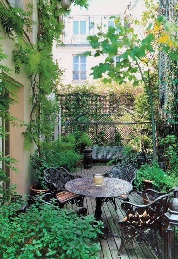 Id es d co terrasse balcon for Deco balcon terrasse