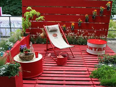 Id es d co terrasse pas cher - Idee amenagement jardin pas cher ...