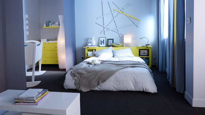 idee d co chambre suite parentale. Black Bedroom Furniture Sets. Home Design Ideas