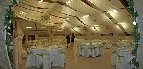 Idee d co entr e salle mariage - Photo de decoration de salle de mariage ...