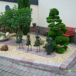 idee déco jardin avec galets