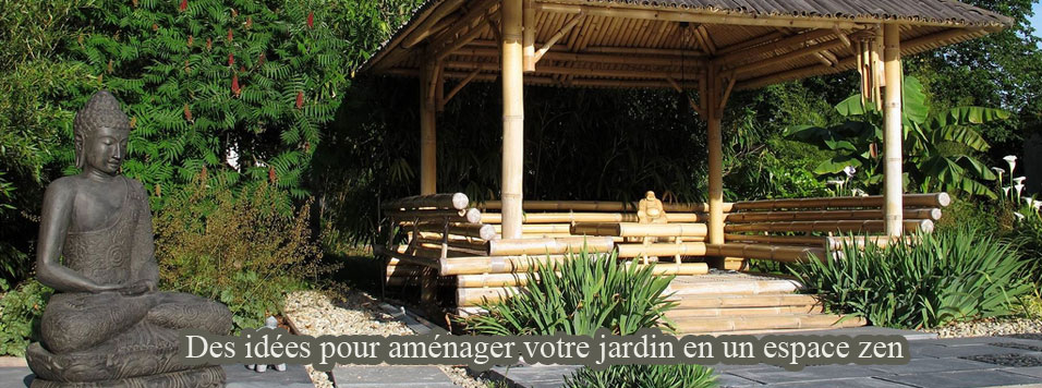 Idee d co jardin bambou for Deco bambou terrasse