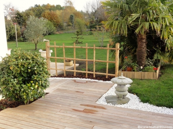 Idee d co jardin bambou for Decoration de petit jardin