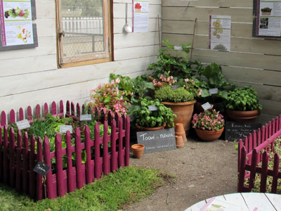 Idee d co jardin potager for Idee de decoration de jardin