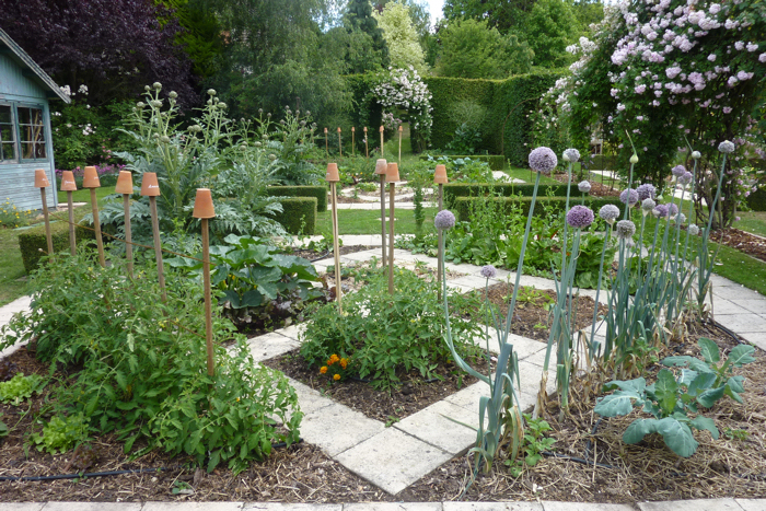idee deco jardin potager