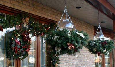 Idee d co jardiniere noel for Decoration exterieur noel sapinage