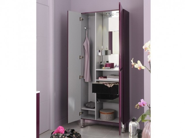 grande armoire salle de bain. Black Bedroom Furniture Sets. Home Design Ideas