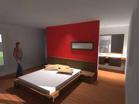 Ide Suite Parentale. Dressing Moderne Chambre Des Parent Plan Suite ...