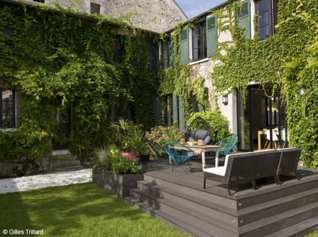 Awesome Idee Decoration Jardin Et Terrasse Contemporary - Amazing ...